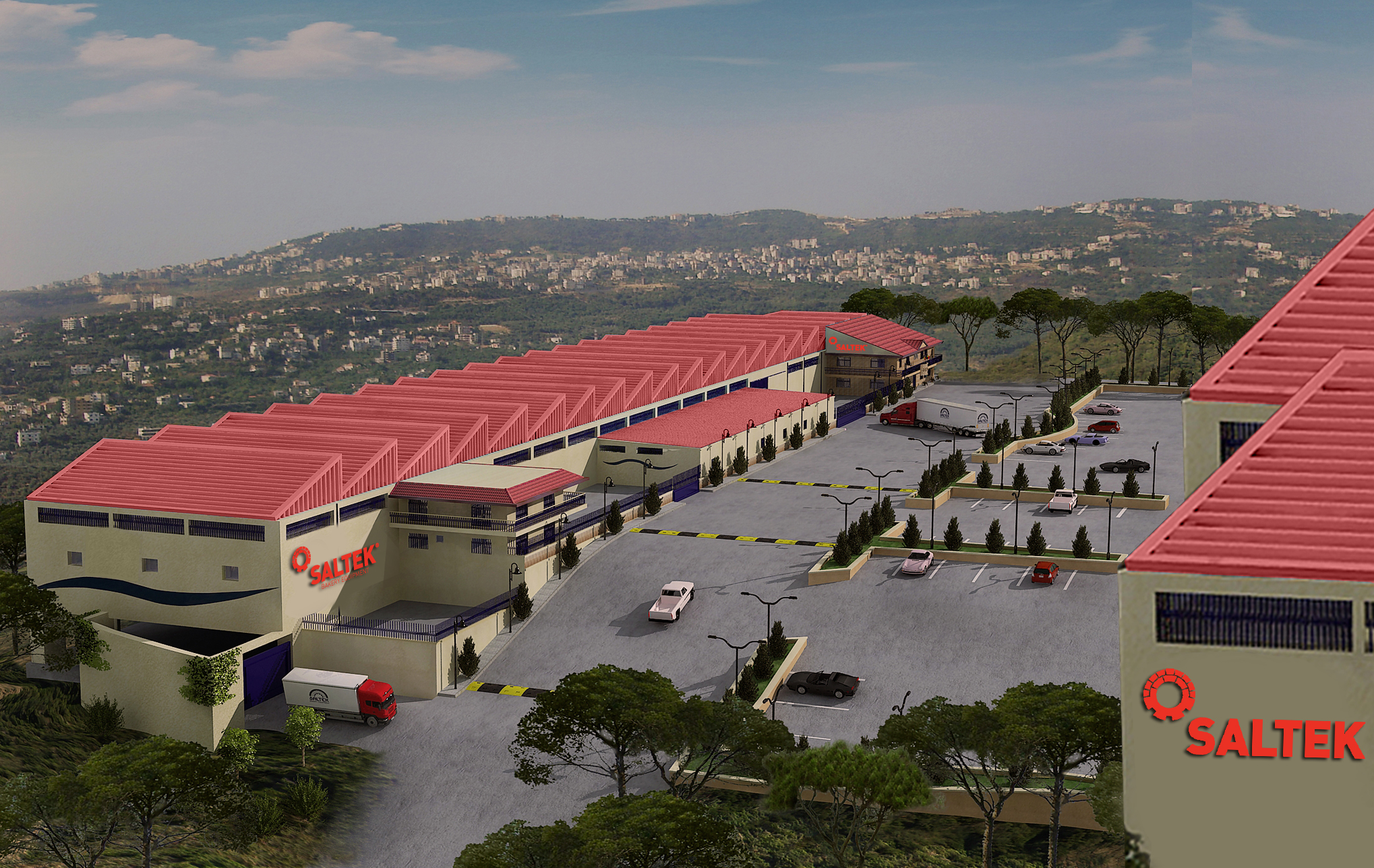 Another Expansion in Mazraat Yachouh-Lebanon with 450 sqm Showroom to be Born in 2019